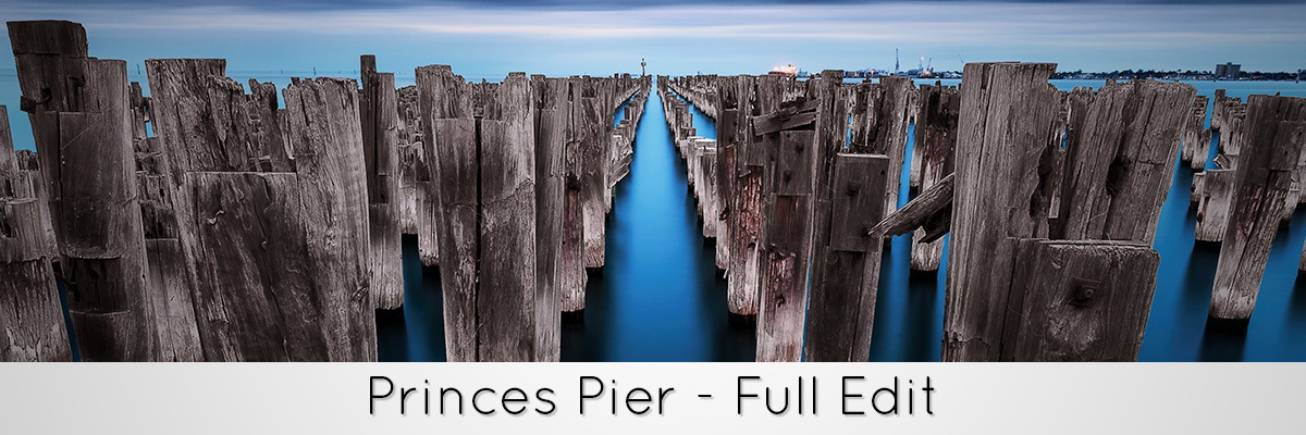 Princes Pier Full Photoshop Tutorial