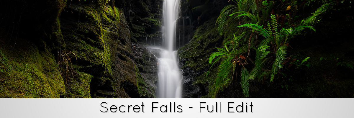 Photoshop Tutorial - Secret Falls full photoshop edit
