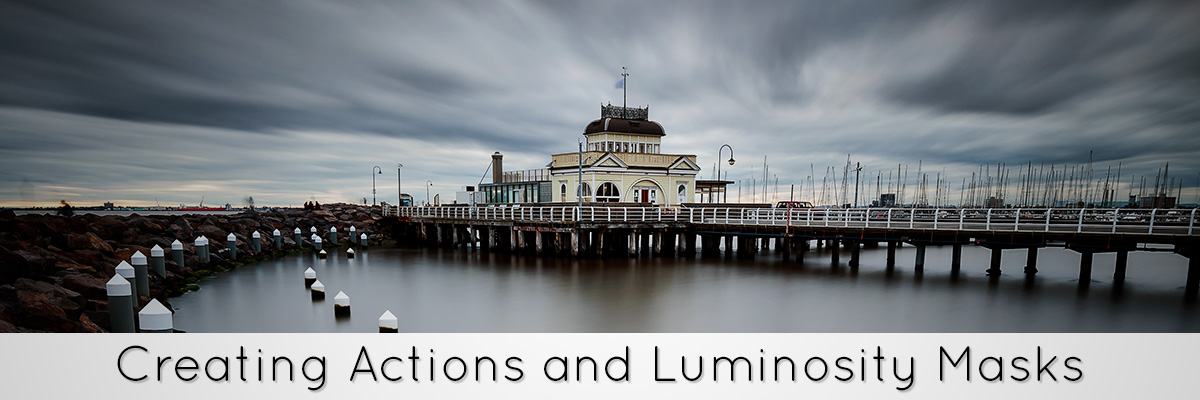 Photoshop Tutorial Actions Luminosity Masks