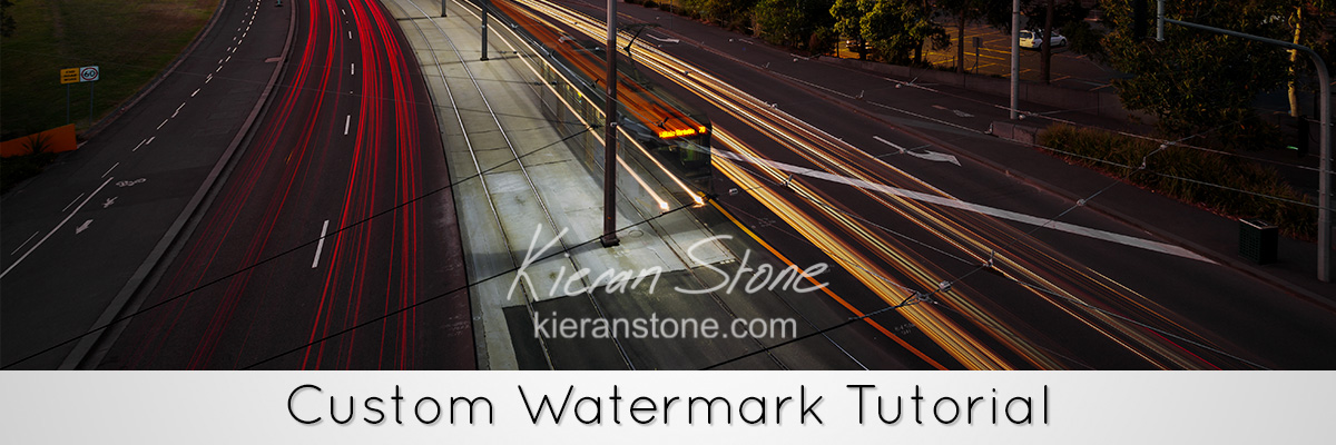 Custom Watermark photoshop tutorial