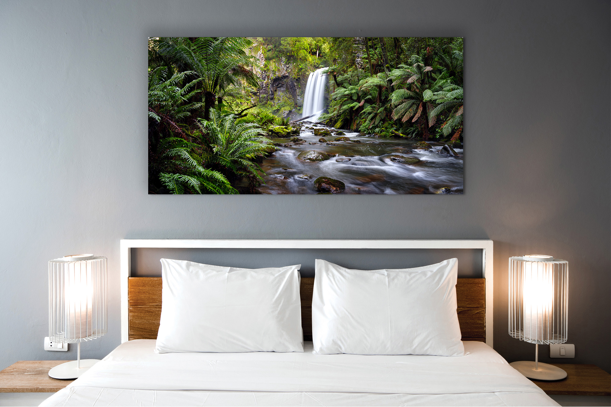 landscape photography bedroom hopetoun falls