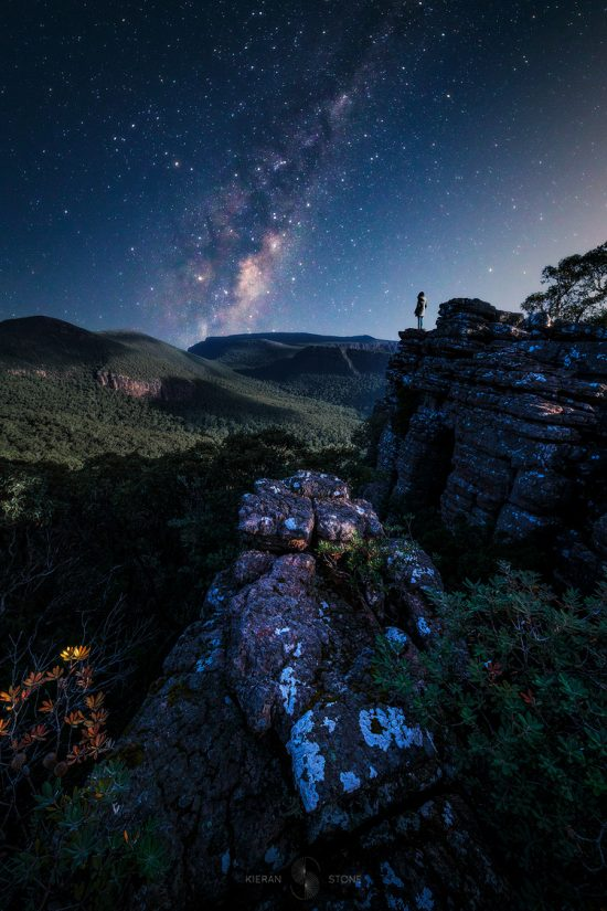 moonlit_grampians_stars_photo_print The Grampians Victoria