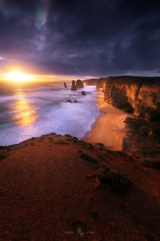 12 apostles sunset photo