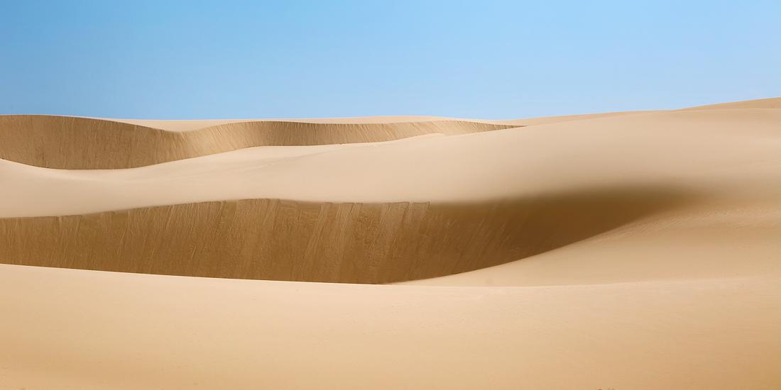 Windblown sands of Thurra River's giant dunes