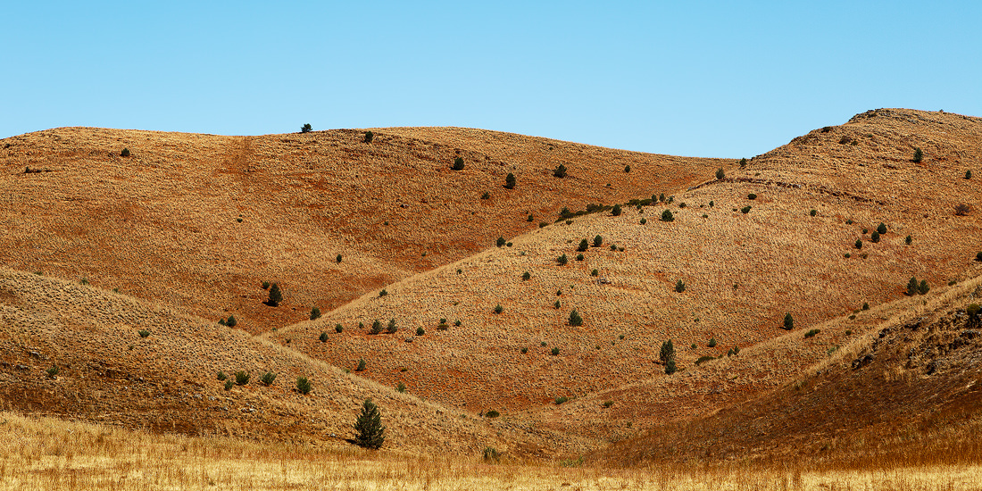 The hills of the Flinders Ranges in South Australia